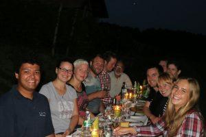 Weinprobe in Lindelbach